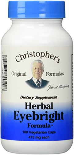 Dr. Christopher's Original Formulas Herbal Eyebright Formula Capsules, 100 Count ()