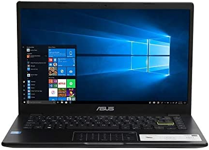 ASUS E410 Intel Celeron 4GB 128GB eMMC 14-inch Full HD LED Display Win 10 S Laptop
