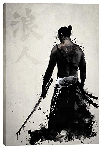 Cortesi Home Ronin Giclee Canvas Wall Art, 18