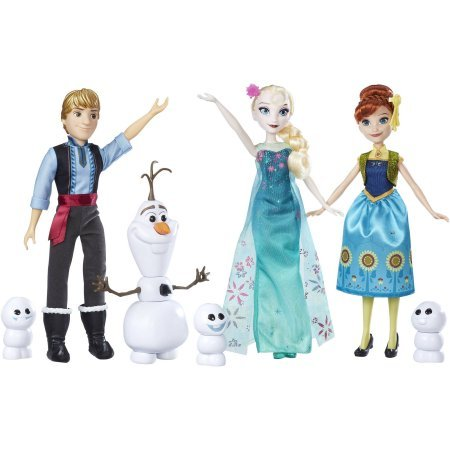 Disney Frozen Fever Friends Gift Set, Includes 4 Character, Comes with Removable Outfits and Shoes, Recommended for Kids Ages 3 and (Best Disney Frozen Friends Gift Sets)