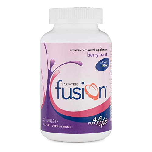 Bariatric Fusion Vitamin and Mineral Supplement Without Iron Berry Burst Flavor Tablets, 120 Tablets