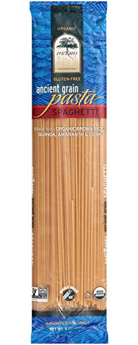 truRoots Ancient Grain Spaghetti Pasta, 8 Ounce (Pack of 6)