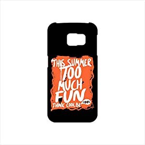 Fmstyles - Samsung S6 Mobile Case - This Summer Too Much Fun