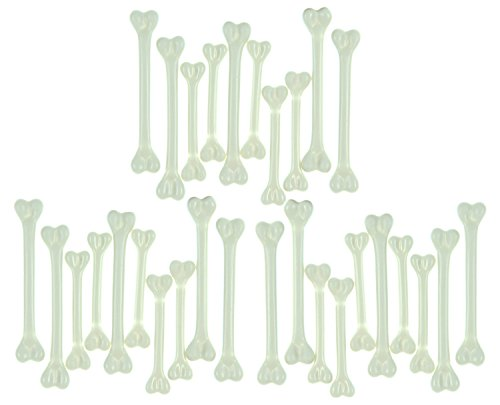 (Rubie's Costume Deluxe 3 Pack Bag'O Bones Halloween Decoration - 10 per Pack )