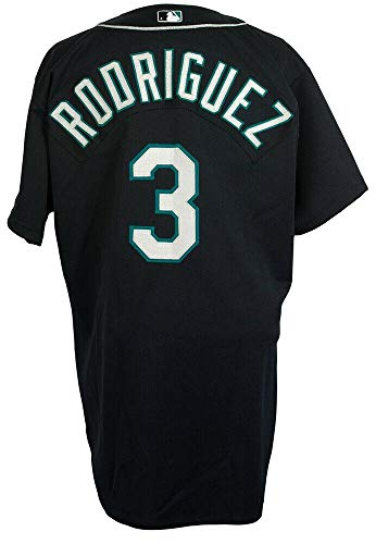 (Alex Rodriguez Game Used Seattle Mariners 2000 Alternate Jersey Mears A10 LOA - MLB Game Used Jerseys)