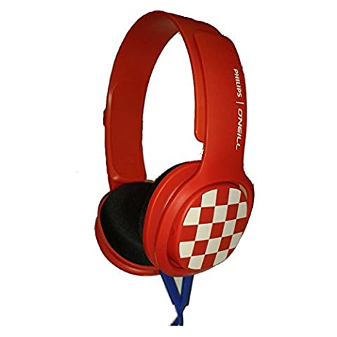 Philips O'Neill Cruz - Red - SHO3300CR/00 (Pioneer Noise Cancelling)