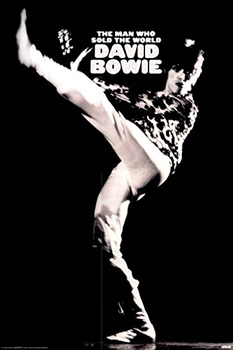 (David Bowie The Man Who Sold The World 24x36 Poster by Unknown)