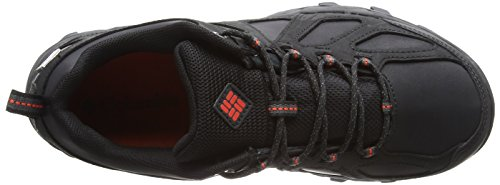 Columbia Peakfreak Xcrsn II Low Leather Outdry, Stivali da Escursionismo Uomo Nero (Black, Super Sonic 010)