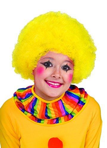 Yellow Clown Wig - 2
