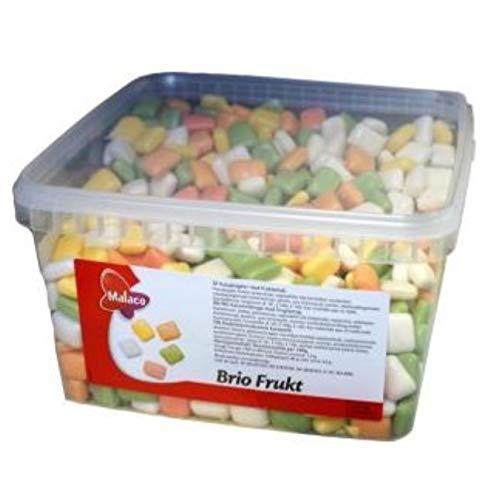 Malaco Brio Frukt 2kg retail box fruit flavor sweets by Brio Frukt