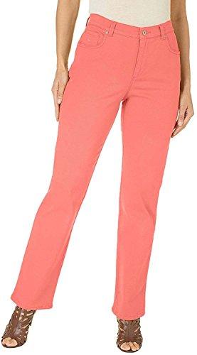 Fit Classique Pieds Vanderbilt Fuselés Gloria Nectar Jeans Amanda Coral Femmes n0PX8OkNw