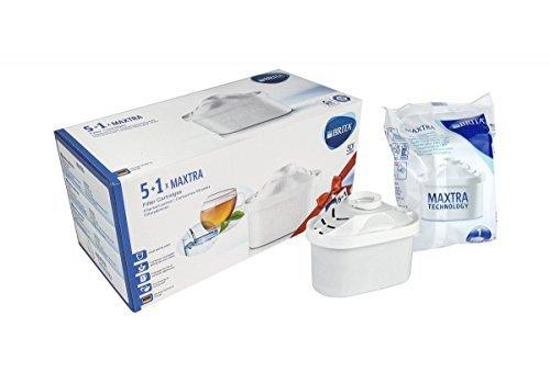 -[ BRITA MAXTRA Water Filter Cartridges - 5 1 Pack  ]-