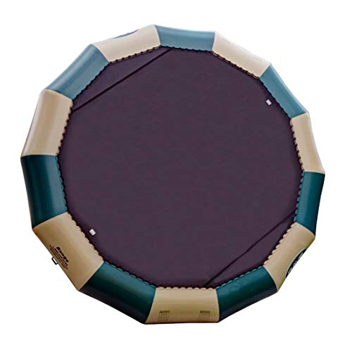 Trampoline Log Northwoods - Rave Bongo Bouncer Northwoods Edition (20-Feet, Green/Tan)