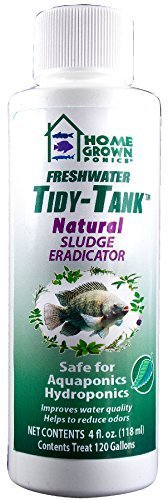 HOME GROWN PONICS  96038 Tidy Tank Natural Sludge Eradicator, 4-Ounce by Home Grown Ponics
