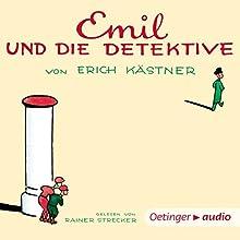 Emil und die Detektive Hörbuch von Erich Kästner Gesprochen von: Rainer Strecker