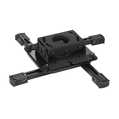 Chief RPAU | Universal Ceiling Projector Mount Black