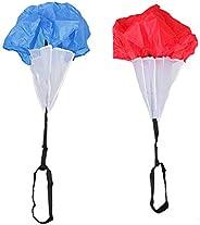 Baosity 2pcs Football Soccer Agility Parachute Running Speed Resistance Training Drag Chute Fitness Core Stren