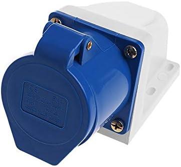 32 Amp 3pin Industrial Socket 220V-250Volt Weatherproof IP44 Waterproof 2P+E 32A Y103 VILKABA