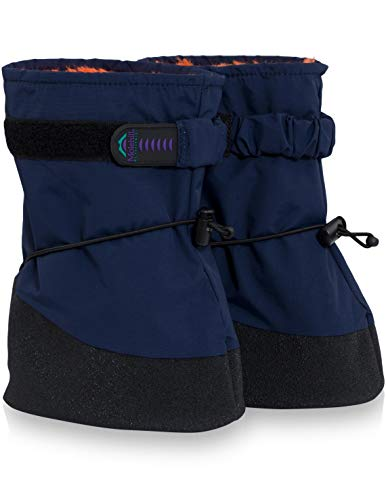 Molehill (MH17-8002-S) Infant Boot, Navy, Small (Infant)
