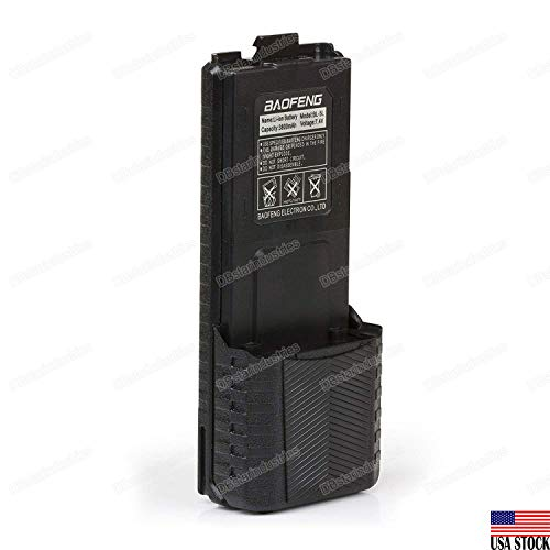 DBSTAR Original Baofeng extended high power Li-ion Battery (Model: BL-5L, 3800 mAh, ()