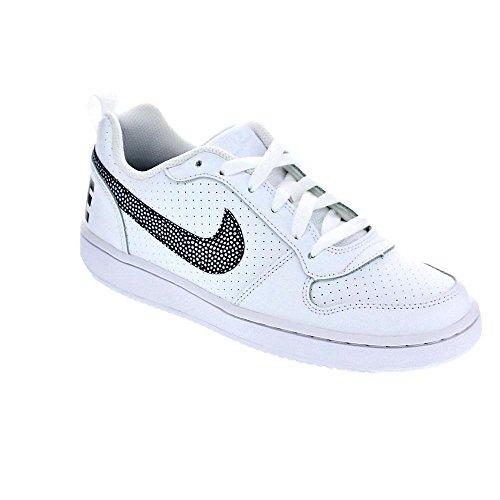 Mujer Nike Para Court Deporte blanco Blanco Borough Zapatillas 103 De Low 839985 rr0S1p
