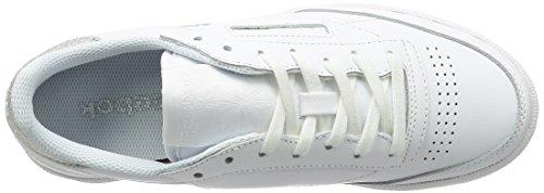 Zapatillas para Interior C Blanco Mujer Deportivas Reebok 85 Diamond para Club qF41Ifw