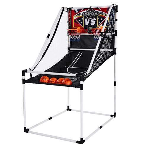 unior Home Electronic Scoreboard Arcade Basketball Hoop Game (Electronic Basketball)