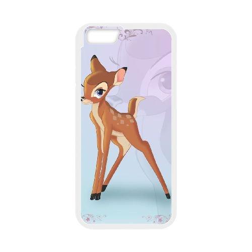 Bambi coque iPhone 6 4.7 Inch Housse Blanc téléphone portable couverture de cas coque EBDOBCKCO10672