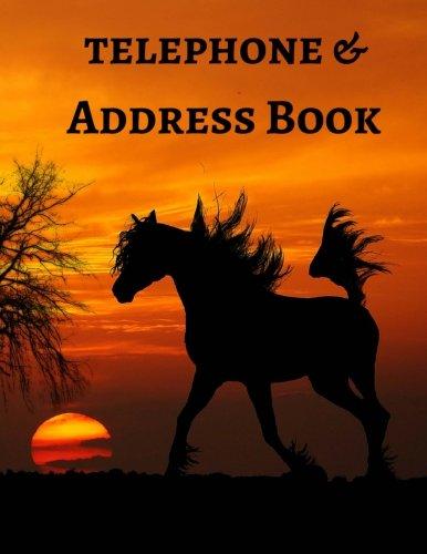Telephone & Address Book (Large Print) (Volume 5) (Telephone Sunset)