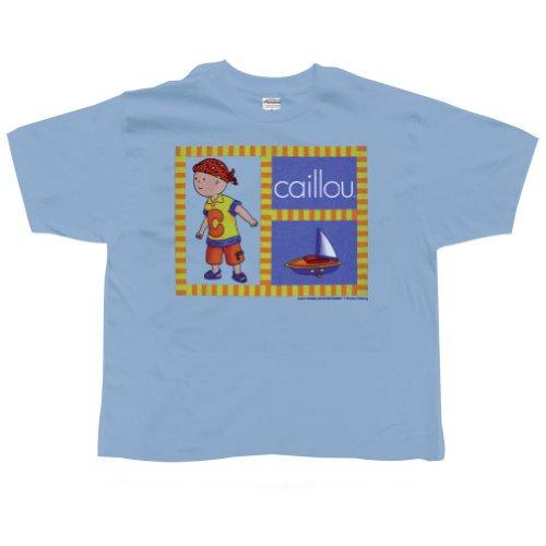 Caillou - Boys Set Sail Juvy T-shirt Juvy 7 Light Blue
