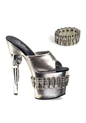 Amazon.com | Pleaser Women's Bond Girl 701-3 Dress Shoes