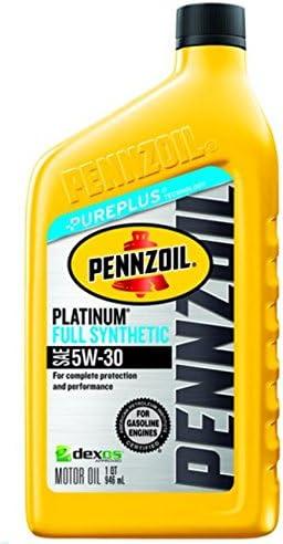 Pennzoil Platinum Full Synthetic Motor Oil 5W-30}