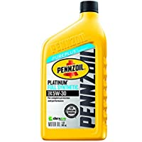 5-Pk. Pennzoil 5W-30 Platinum Full Synthetic Motor Oil (1 Quart)