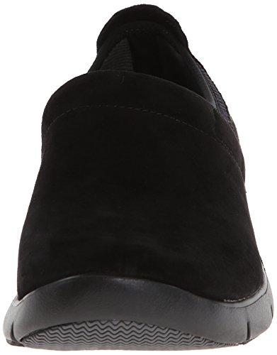 Clog Dansko Enya Suede Women's Black rOO4Ewq