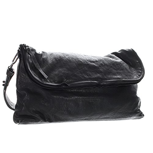 Liebeskind Ota Sac bandoulière cuir 41 cm ninja black