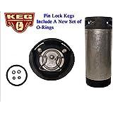 Pin Lock Keg, 5 Gallon By Kegconnection
