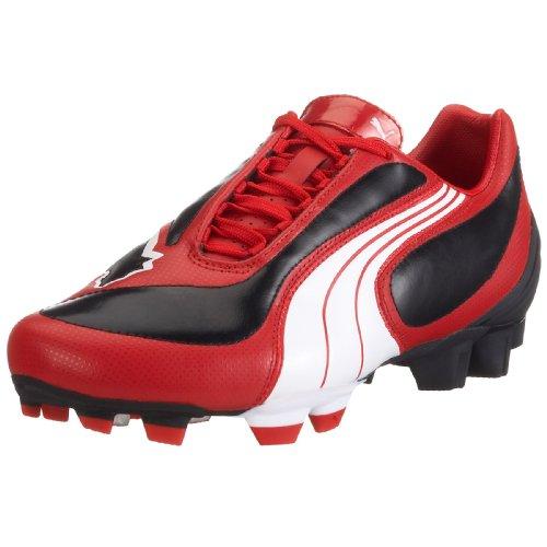 Puma en Bottes FG football cuir V3 08 i Rouge Hommes de qqAORg
