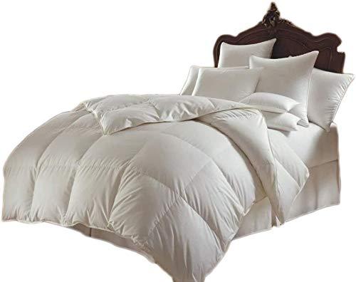 MAS mit Federn und Daunen Bettdecke 13,5 TOG QUILT in allen UK-Größen, Entenfeder und Daunen, Double(200x200cm)