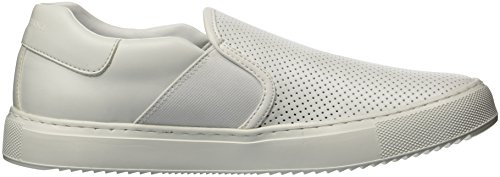 Perforated Men Slip A Exchange X Armani Sneaker on White xXIrtI
