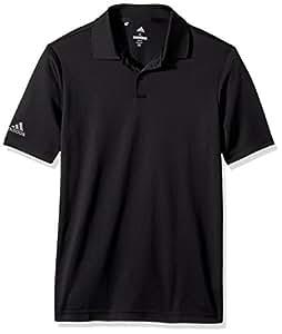 adidas Golf Tournament Polo, Black, Small