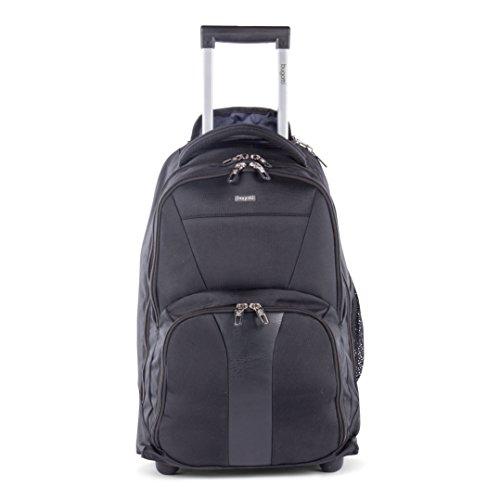 bugatti-gregory-backpack-on-wheels-polyester-black-international-carry-on-model-bkpw2621-black