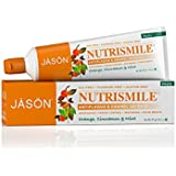 Jason Natural Products Nutrismile Toothpaste, Orange Cinnamon Mint, 4.2 Ounce