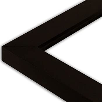 Amazon Com The Rusty Roof Satin Black Picture Frame