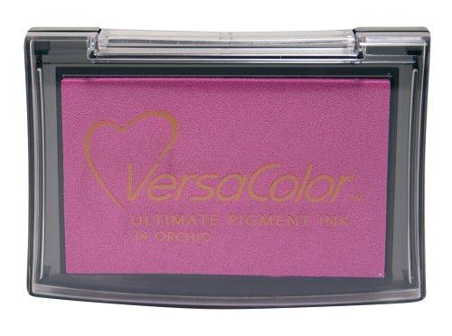 Tsukineko Full-Size VersaColor Ultimate Pigment Inkpad, Orchid