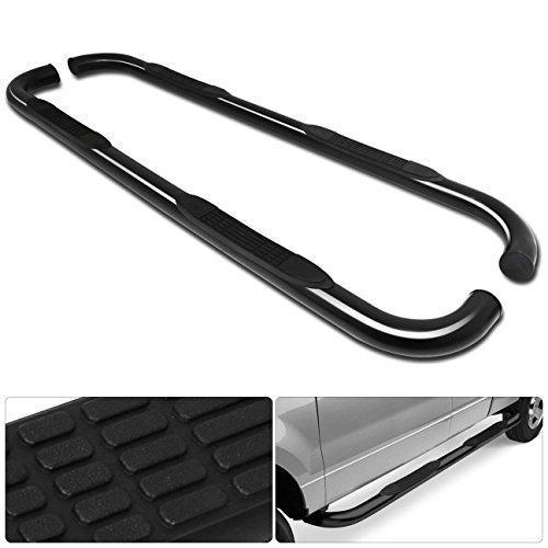 Ford Explorer 4 Door 3 Inch Running Board Tube Round Side Step Nerf Side Step Bar Black