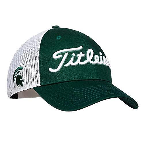 - Titleist Collegiate Mesh Golf Cap 2017 Michigan State Adjustable