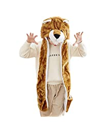 Funny Animal Beanie HAT Cosplay CAP Soft Warm Outdoor Toy Headwraps(The Lion King)