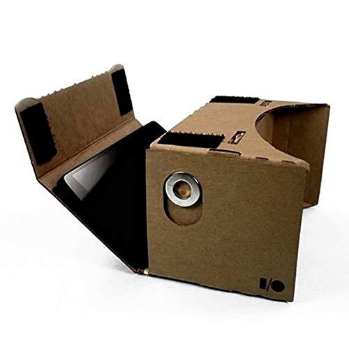 Liobaba DIY Cardboard 3D VR Virtual Reality Glasses for Smartphone DIY Magnet Google Cardboards Glasses by Liobaba (Image #7)