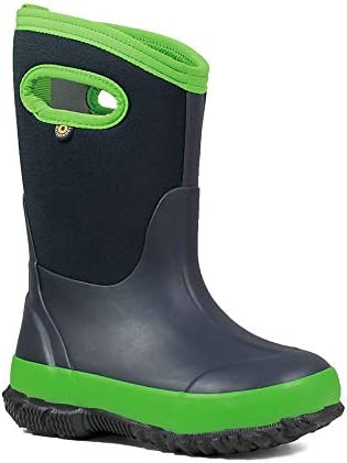 Bogs Kids Classic Matte Insulated Rain Boots /& Drying Towel Bundle