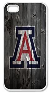 Arizona Wildcats wood background iPhone 5 5s Case, custom iPhone 5 5s case, Cover Case for iPhone 5 5s